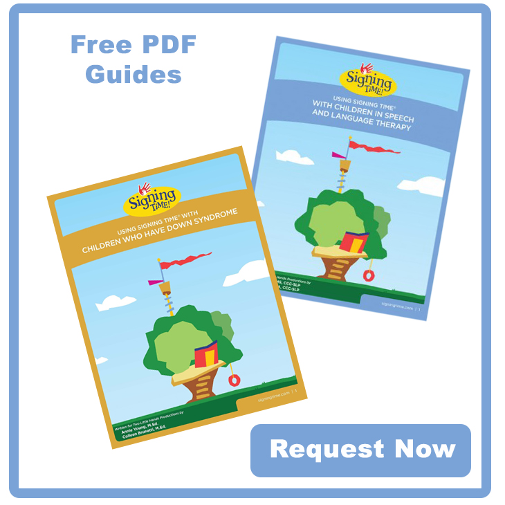 October is Down Syndrome Awareness Month - About Speech Free PDF Guides - Request Now