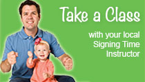 Take a baby sign language class