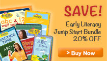 Get 20% off the Signing Time Early Literacy Bundle for 20% now through Jan 31