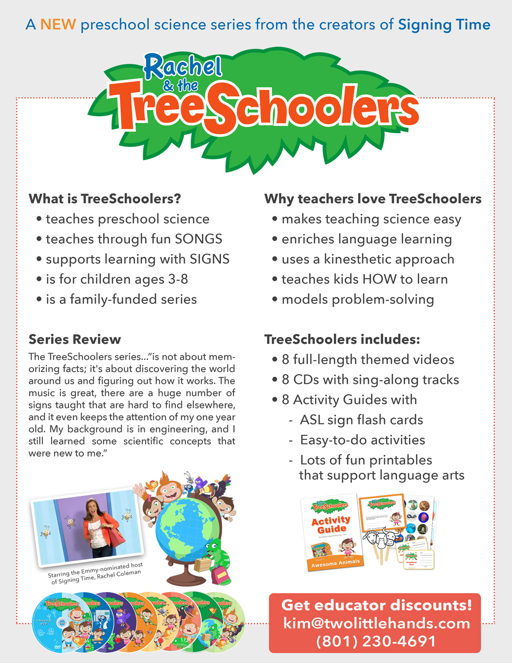 TreeSchoolers teaches science to kids